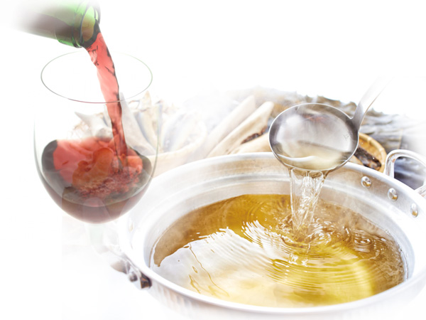 ワインと出汁