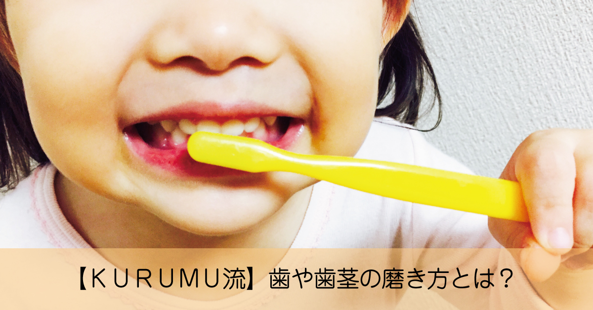 【KURUMU流】歯をツルツルにする歯や歯茎の磨き方とは?