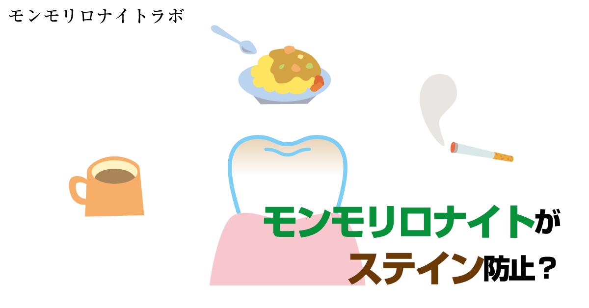【実験】モンモリロナイト歯磨き粉がステイン防止できるか?